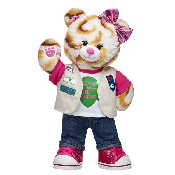 Online Exclusive Girl Scout S'mores® Campout Bear Cadette/Senior/Ambassador Gift Set, , hi-res