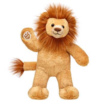 lion stuffed animal sitting