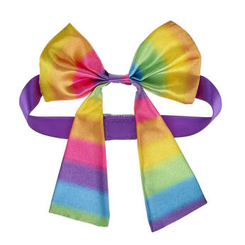 Online Exclusive Rainbow Gifting Bow - Build-A-Bear Workshop®
