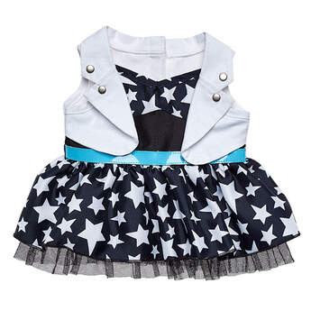 Honey Girls Teegan Star Dress - Build-A-Bear Workshop®