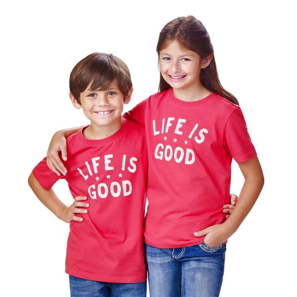 Red Life is Good® Kids 4T T-Shirt - Spead the Power of Optimism with this Life is Good® Kids T-Shirt. 4T T-Shirt for Kids.