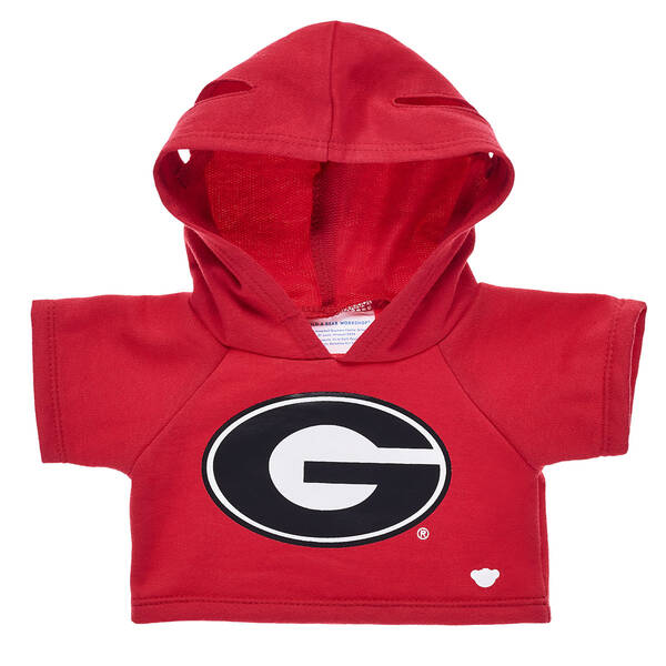 This bear-sized University of Georgia hoodie has the official logo on the front for showing off your furry friend's school spirit! Personalize a furry friend to make the perfect gift. Free shipping on orders over $45. Shop online or visit a store near you!