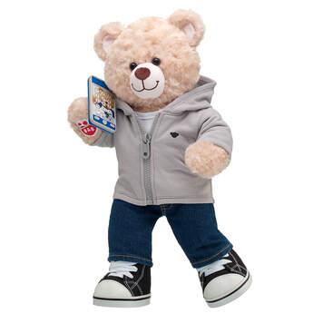 Happy Hugs Teddy Blue Toy Smartphone Gift Set, , hi-res