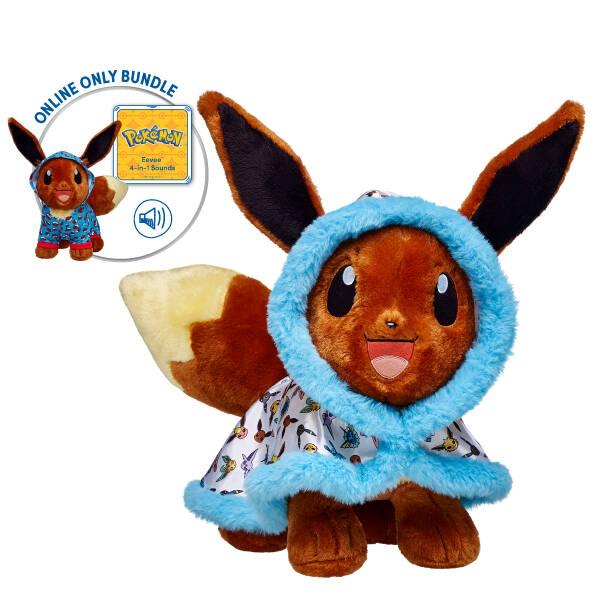 pokémon collection eevee stuffed animal gift bundle