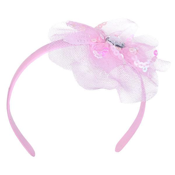 Pink Tulle Headband, , hi-res