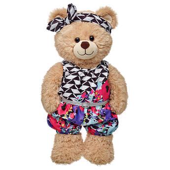 Honey Girls Misha Floral Romper 2 pc. - Build-A-Bear Workshop®