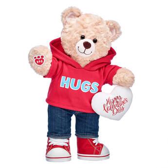 Happy Hugs Teddy Valentine's Day Gift Set, , hi-res