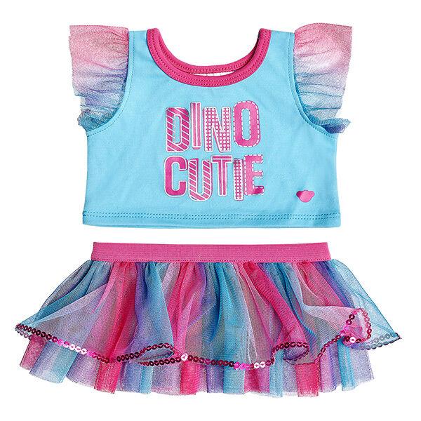 Dino Cutie Tutu Outfit 2 pc., , hi-res