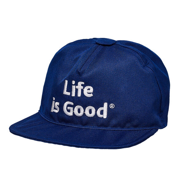 "Acessorize your Life is Good® Bear with this navy blue baseball cap featuring an embroidered Life is Good® logo!© 2016 The Life is Good Company. All Rights Reserved. ""Life is Good"" is a registered trademark and the Yellow Dot Logo a trademark of the Life is Good Company."