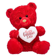 Online Exclusive Red Roses Bear Valentine's Day Gift Set, , hi-res