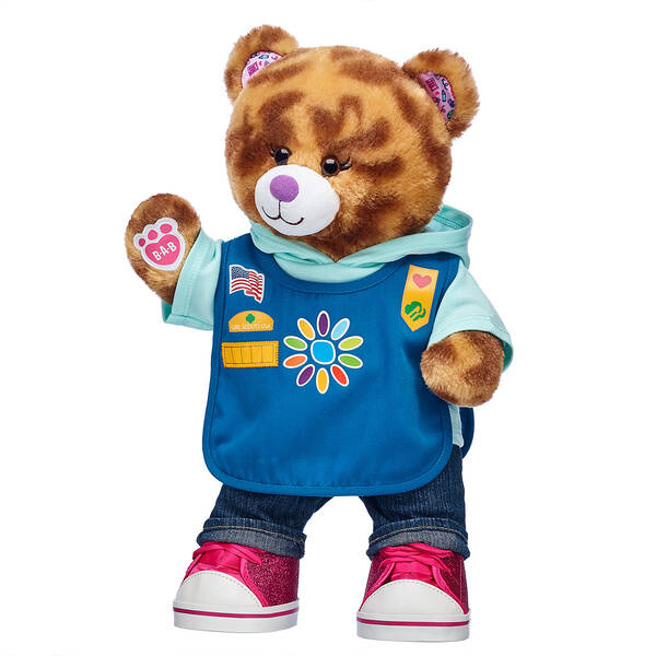 Coconut Caramel Cookie Bear Daisy Girl Scouts® Gifts - Build-A-Bear Workshop®