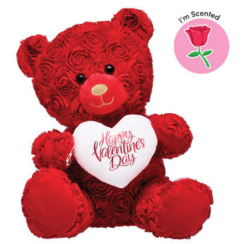 Online Exclusive Red Roses Bear Scented Gift Set, , hi-res