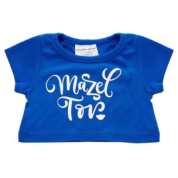 Blue Mazel Tov T-Shirt - Build-A-Bear Workshop®