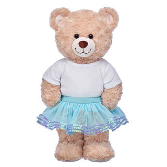 Sparkly Turquoise Tutu - Build-A-Bear Workshop®