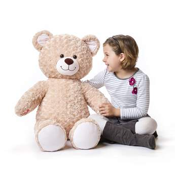 Online Exclusive Jumbo Happy Hugs Teddy - Build-A-Bear Workshop®