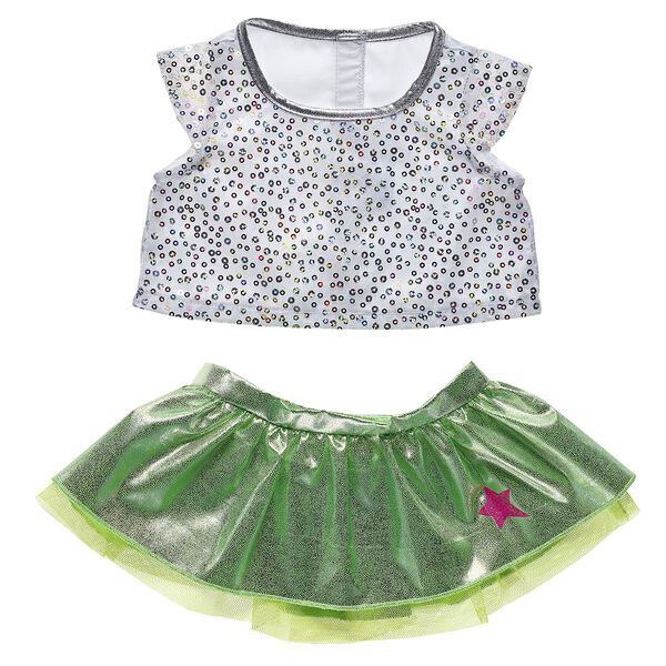 Honey Girls Neon Skirt Set 2 pc., , hi-res