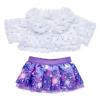 Honey Girls Fur Jacket Set 2 pc. - Build-A-Bear Workshop®