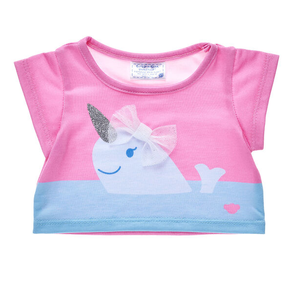 Narwhal T Shirt For Stuffed Animals Build A Bear