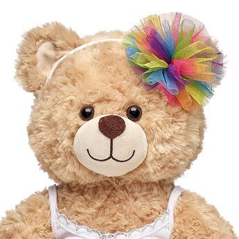 Rainbow Tulle Headband, , hi-res