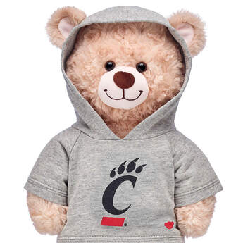 University of Cincinnati Hoodie - Build-A-Bear Workshop®