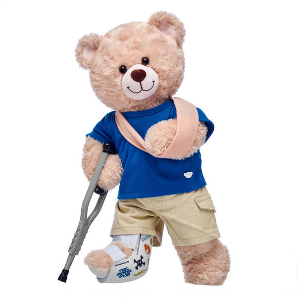 Happy Hugs Teddy Get Well Soon Gift Set, , hi-res