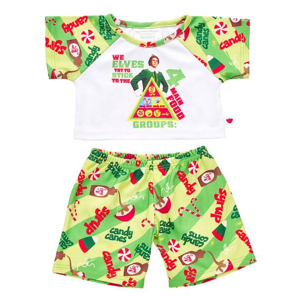 Online Exclusive Buddy the Elf™ Pajama Set - Build-A-Bear Workshop®
