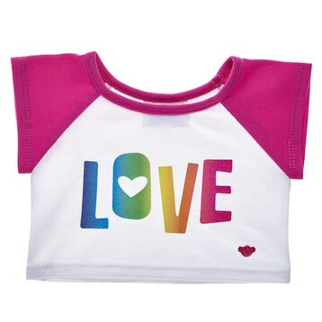 Rainbow Love T-Shirt, , hi-res