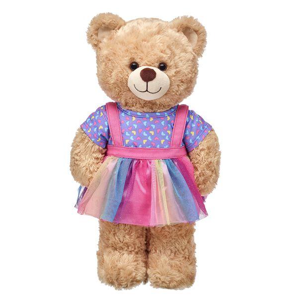 Rainbow Hearts Skirtall 2 pc., , hi-res