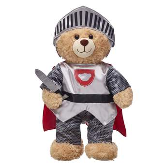 Give bigger bear hugs with this Knight In Shining Armor Costume! Find stuffed animals, clothing & accessories for any occasion at Build-A-Bear.