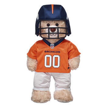 This bear-sized Denver Broncos football uniform for stuffed animals comes with a plush helmet, pants and jersey. Personalize a furry friend to make the perfect gift. Free shipping on orders over $45. Shop online or visit a store near you!