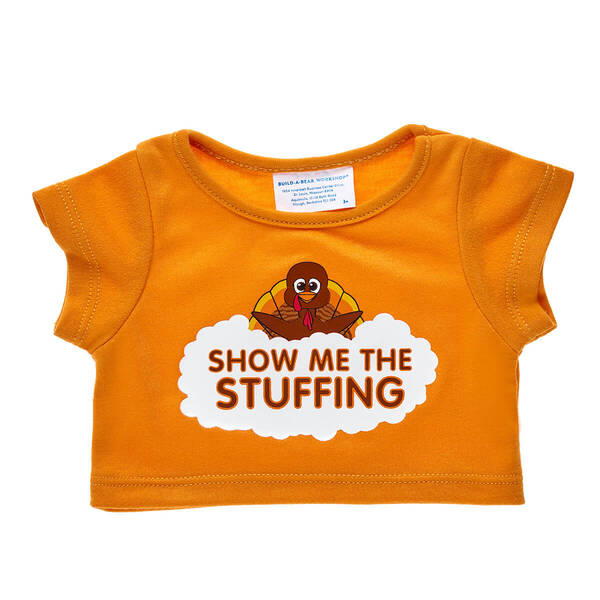 Online Exclusive Show Me the Stuffing T-Shirt - Build-A-Bear Workshop®