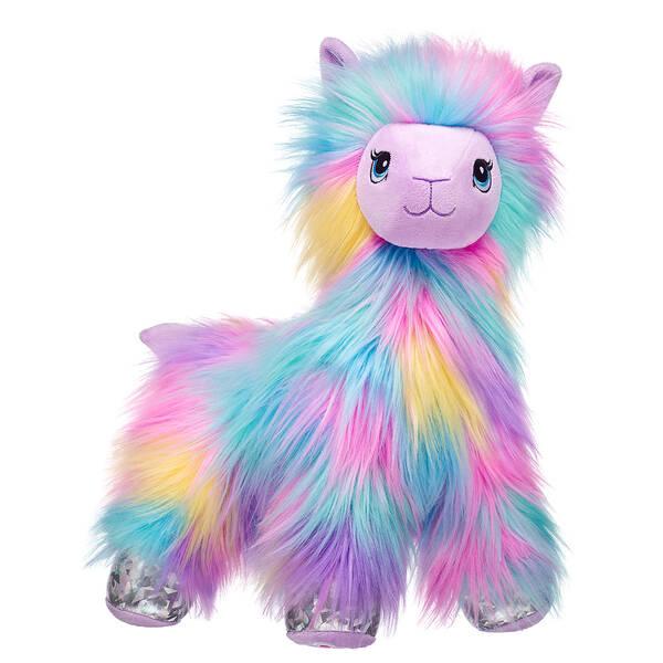 Furbulous Rainbow Llama - Build-A-Bear Workshop®