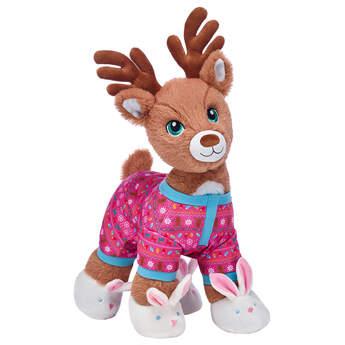 Santa's Reindeer Pink Sleeper Gift Set, , hi-res