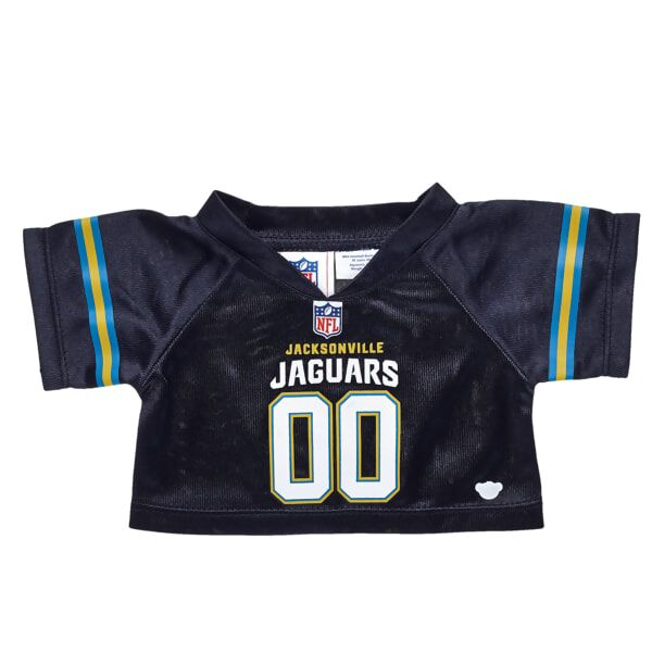 Hut! Hut! Hike! Are you ready for game day? Dress your furry friend in this Jacksonville Jaguars jersey to cheer on the Jaguars! It's the perfect gift for any sports fan.  2017 NFL Enterprises LLC. Team names/logos are trademarks of the teams indicated.