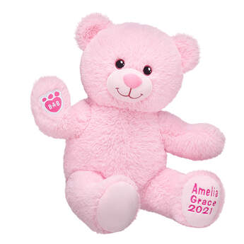 Online Exclusive Personalized Pink Baby Bear - Build-A-Bear Workshop®