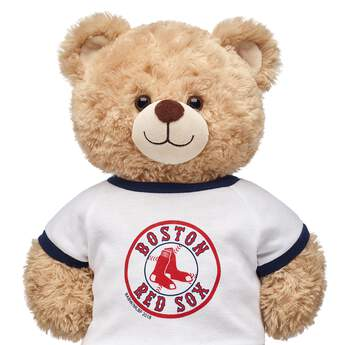 Make a grand slam of a gift for baseball fans with this Boston Red Sox™ tee for stuffed animals! Outfit a furry friend online to make the perfect gift. Free shipping on orders over $45. Make your own stuffed animal online with our Bear Builder or visit a store near you.