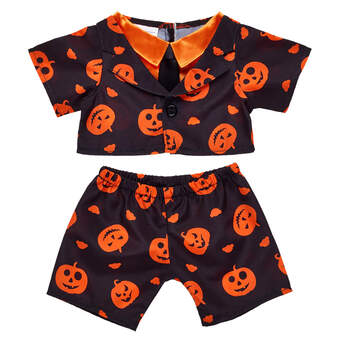 Pumpkin Print Halloween Suit - Build-A-Bear Workshop®