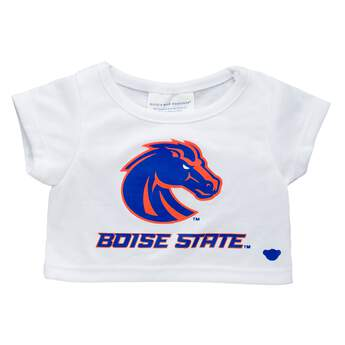 Officially licensed Boise State University T-Shirt. This teddy bear size tee has a Boise State logo on the front. It's perfect for alumni or any fan of Boise. Go Broncos!© 2016 Boise State University
