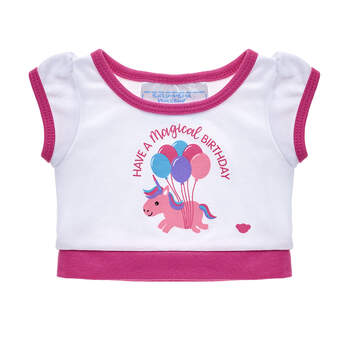Online Exclusive Birthday Unicorn T-Shirt - Build-A-Bear Workshop®