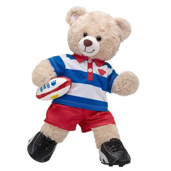 Online Exclusive Happy Hugs Teddy Rugby Gift Set, , hi-res