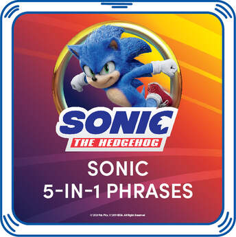 Sonic Movie Phrases - Build-A-Bear Workshop®