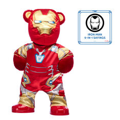 Iron Man Bear with Costume and Sound, , hi-res