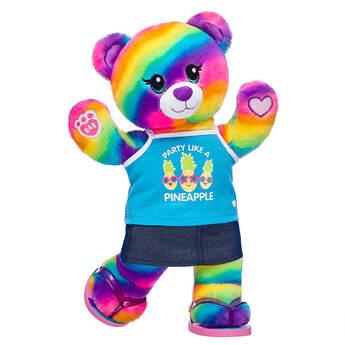 Online Exclusive Rainbow Friends Bear Summer Gift Set, , hi-res