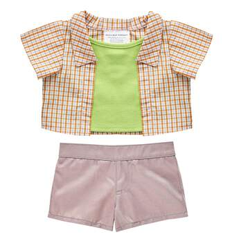 6721a4f8462 This stylish Blue  amp  Green Easter outfit features a 2-fer top and  classic ...