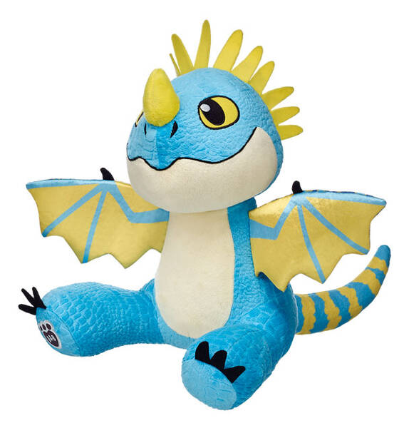 Ready to fly? Take off with Stormfly, a dragon from DreamWorks Dragons! This loyal dragon is beautiful, loves to play fetch, and is quite smart. Personalize her with Dragons accessories to make the perfect unique gift.DREAMWORKS DRAGONS © 2015 DREAMWORKS ANIMATION L.L.C.