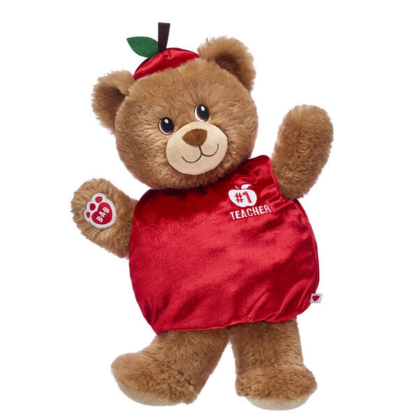Here's a cuddly new way to bring an apple to your favorite teacher! Lil' Cub Brownie is a soft teddy bear that looks adorable in its #1 Teacher outfit. This cute stuffed animal gift set is a fun way to surprise a special teacher!