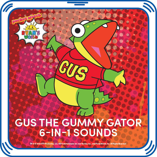 Gus the Gummy Gator™ 6-in-1 Sounds - Build-A-Bear Workshop®