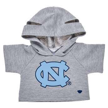 Go Tar Heels! This bear-sized University of North Carolina hoodie has openings on the hood for your furry friend's ears.