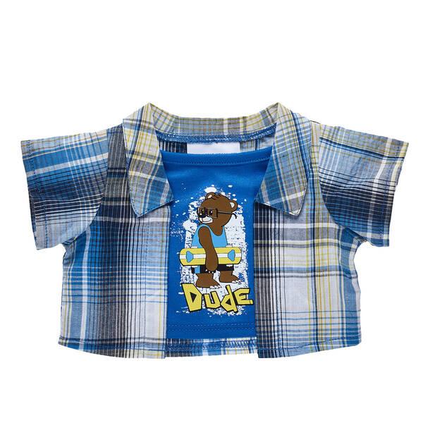 Dude 2-Fer Shirt - Build-A-Bear Workshop®