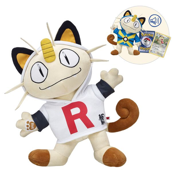 Add Meowth to your Pokémon team! A playful Pokémon with human-like intelligence, Meowth is known for its love of shiny coins and a member of Team Rocket.